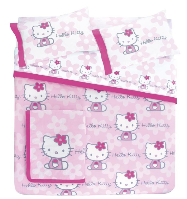 Спален к-т Hello Kitty - Flowers rossa - Gabel